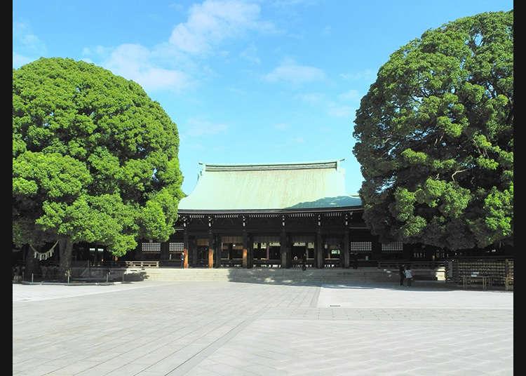 3: ศาลเจ้าเมจิ (Meiji-Jingu)