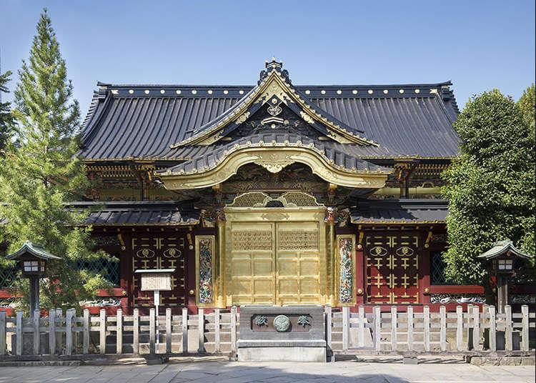 6: ศาลเจ้าอุเอะโนะโทโชกู (Ueno Tosho-gu)