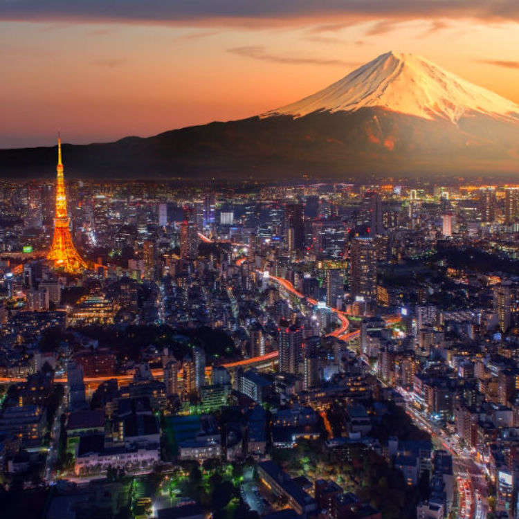 Three Spots in Tokyo with a View of Mount Fuji