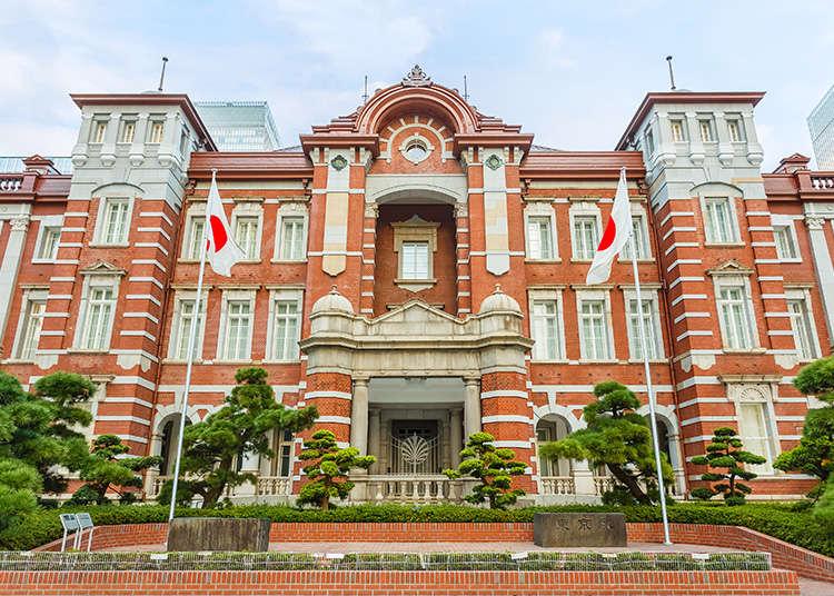 도쿄 역의 사진 촬영 명소 3선