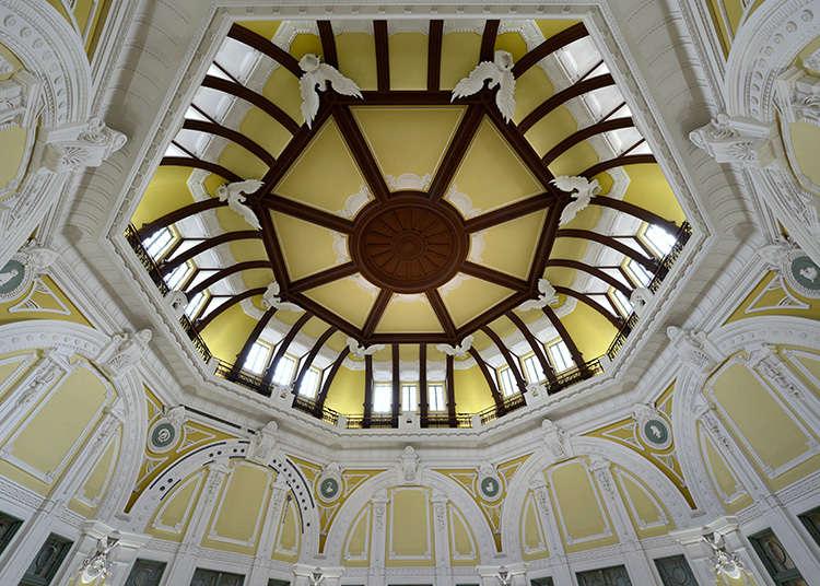 車站象徵的南北圓頂