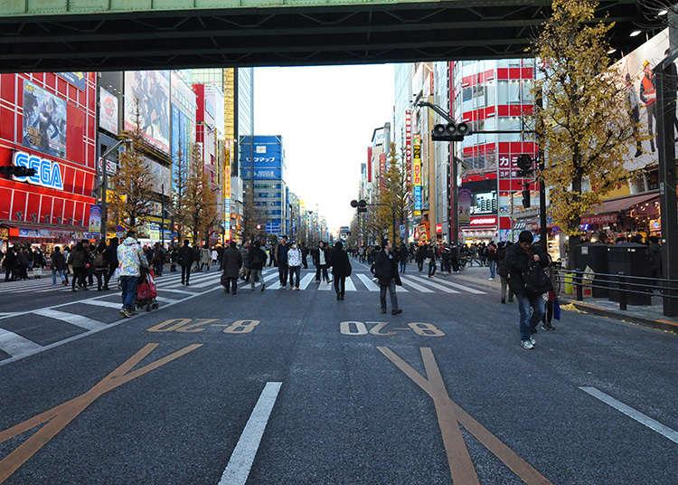 要拍摄秋叶原街道氛围的话就是这里!
