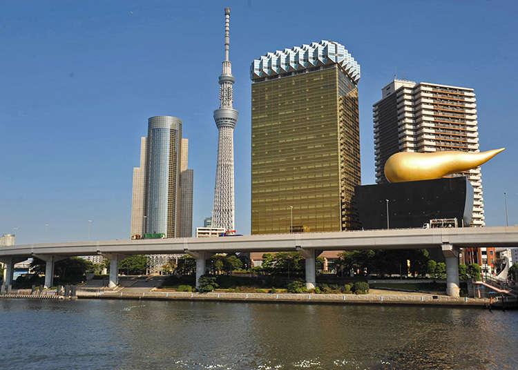 Kawasan sekitar Azumabashi