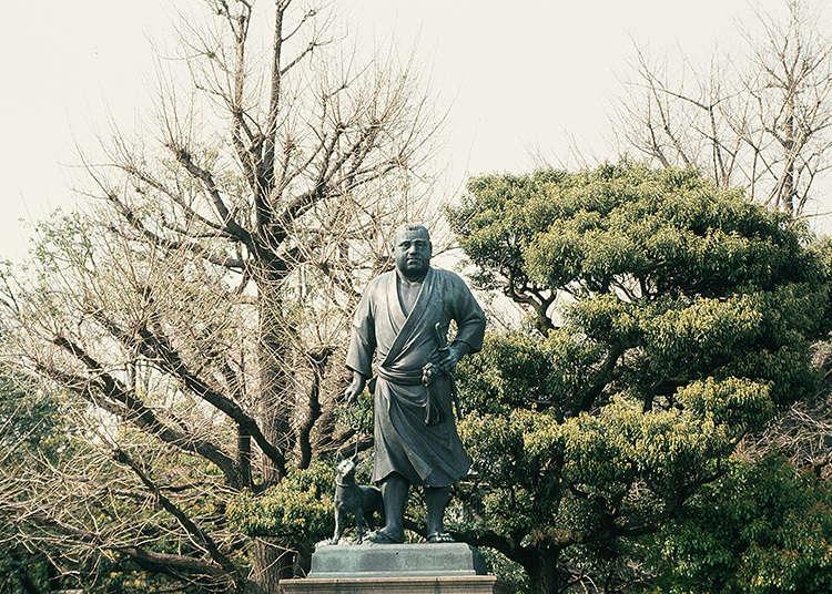 저 동상은 유명인?