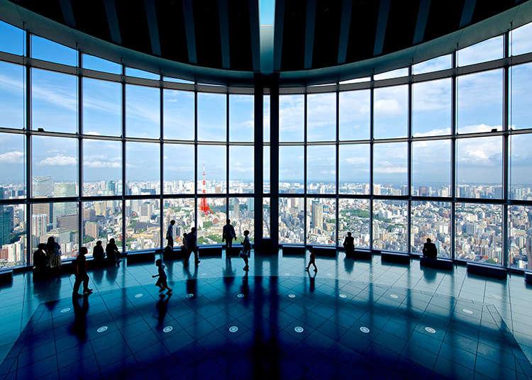 在六本木如果想把东京尽收眼底的话就在这里!