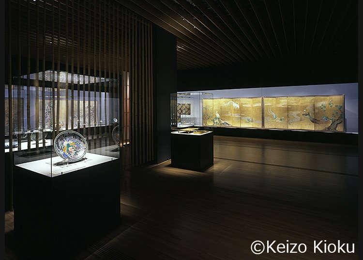 日本美術中心の多彩な企画展を開催