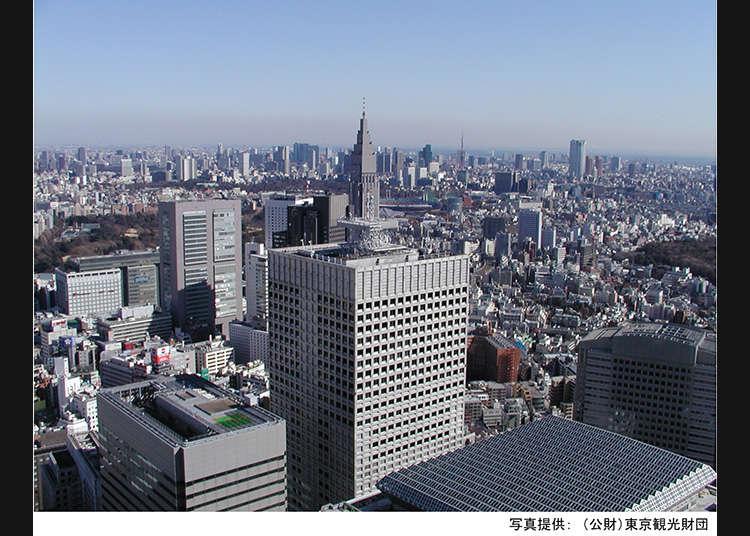 西新宿摩天大樓的前3首選