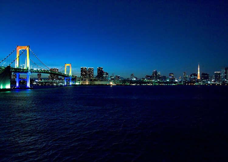 """""""ชิบะอุระ"""" ย่ำเดินเลียบสะพานสายรุ้ง"""