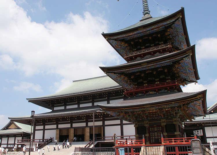 擁有過千年歷史的成田隨一的寺院