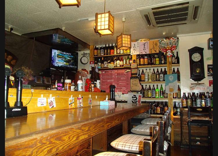 ร้านเหล้าคาราโอเกะสุดแปลกที่นิชิโอะกิคุโบะ