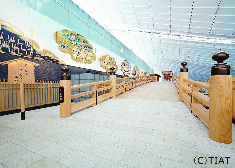 重現往日旅行出發點的「羽田日本橋」