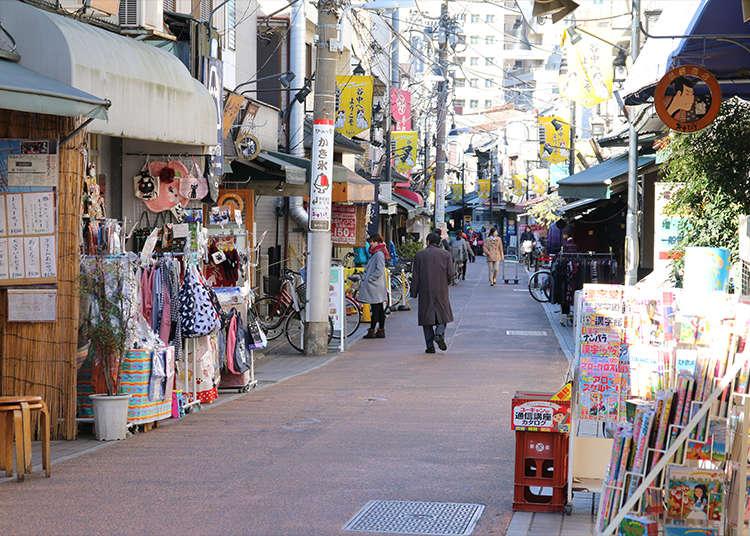 Snack While Strolling Along Yanaka Ginza Shopping Street