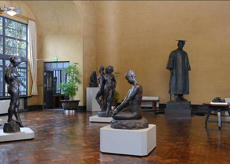 Appreciate Artwork in a Yanaka Museum Converted from the Residence of a Famous Sculptor