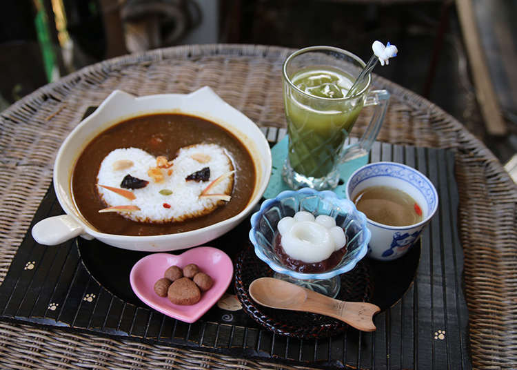 "The Cafe Specialty - ""Nyan Curry"""