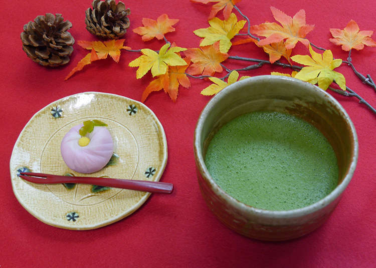 Innumerable types of Japanese sweets