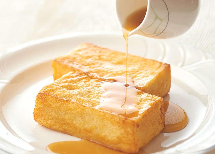French toast (roti celup telur) yang lembut
