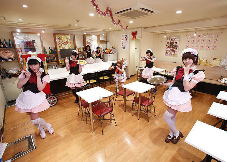 You must go to a maid cafe!