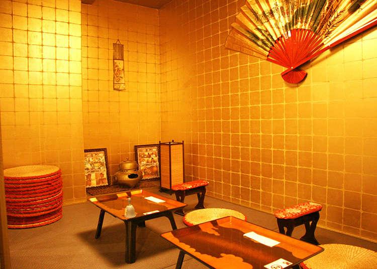 전국시대풍의 메이드 카페에서 무장이 되어보자!