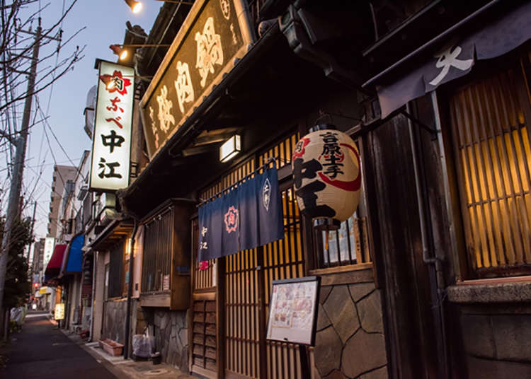 Sakura-nabe Nakae that marks its name in the history