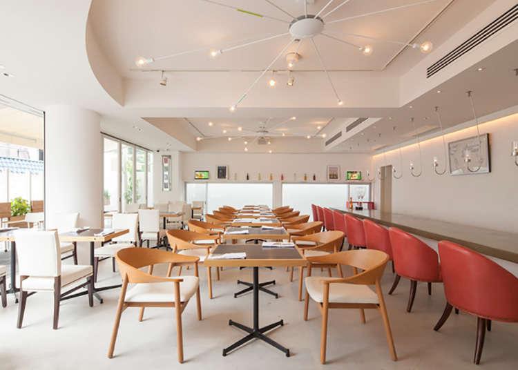 Hanami, restoran yang memberikan pilihan sarapan dari 18 negara.