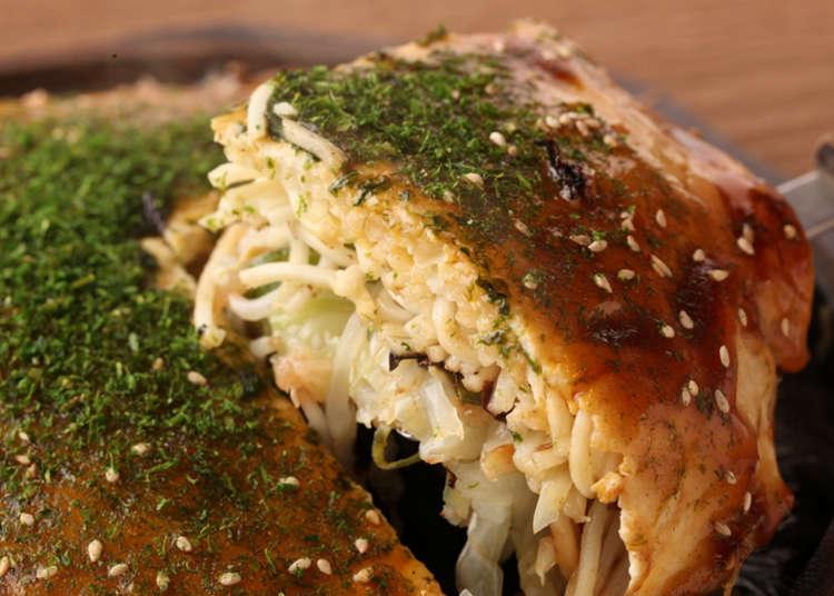 Top 5 places to have Hiroshima-stlye okonomiyaki (Japanese savoury pancake) in Tokyo