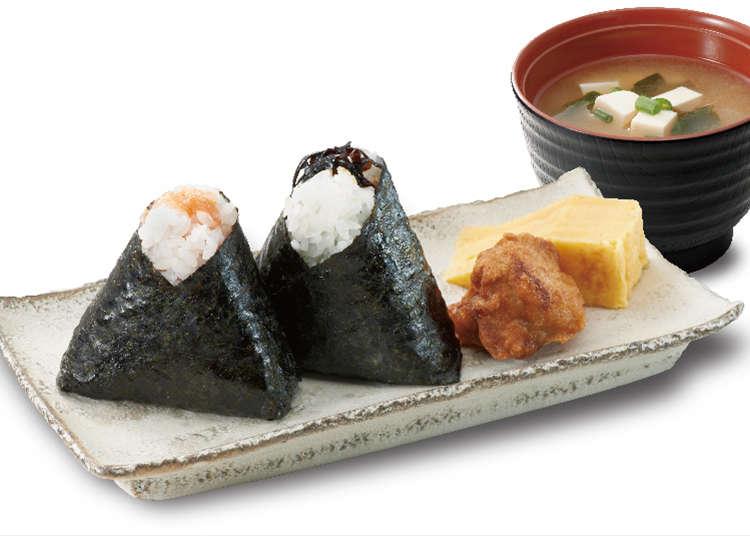 """Mother's taste """"Omusubi"""" specialty shop"""