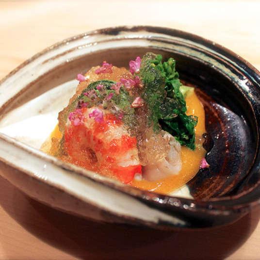 Seni masakan mewah di Tokyo