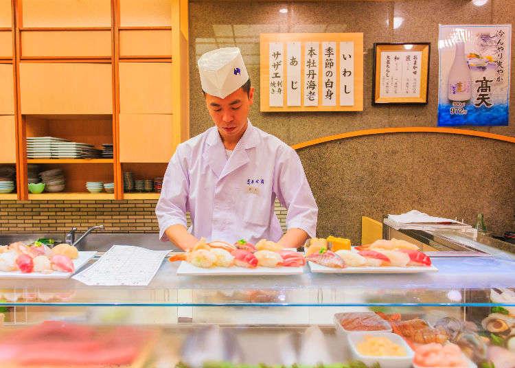 Sushi mewah untuk dinikmati di Tokyo