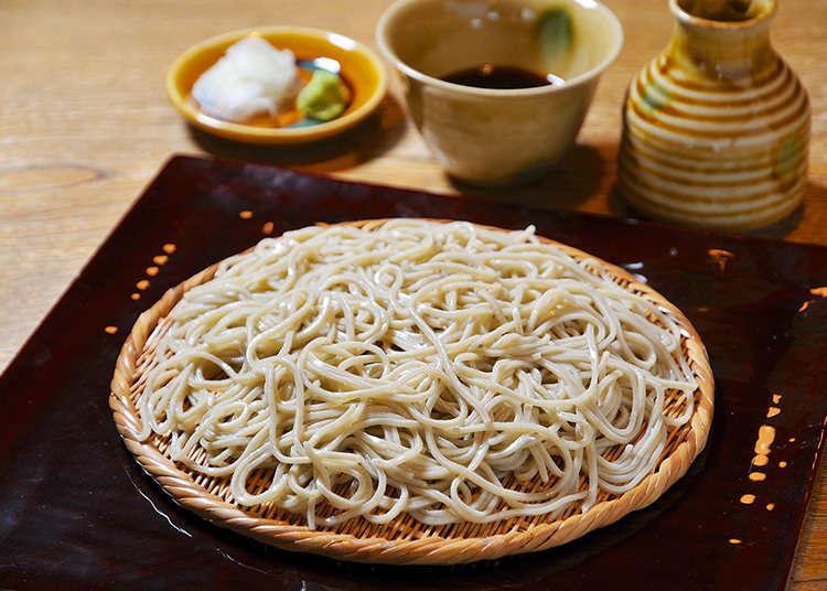 """Namiki Yabu Soba"" yang membawa sejarah berterusan dari Taisho"