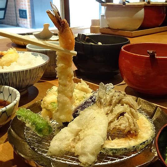เท็มปุระที่ทานได้ในโตเกียว