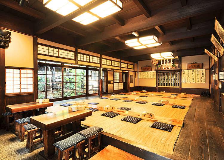 可於東京品嚐的傳統料理
