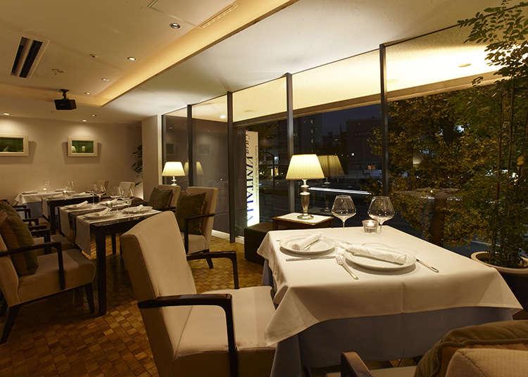 Makanan Itali yang boleh dinikmati di Tokyo