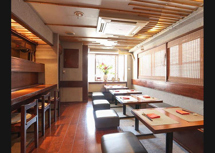 東京で食べる中華料理店