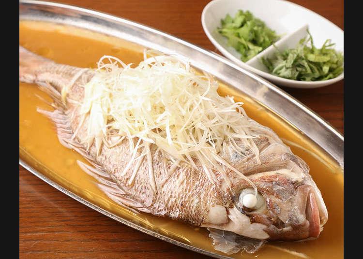 風味、食材皆獨樹一格的廣東料理「瑞雪」
