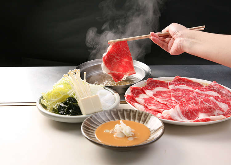 '샤부센' 코스로 일본을 맛보자