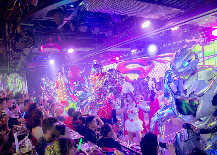 Powerful shows at Robot Restaurant