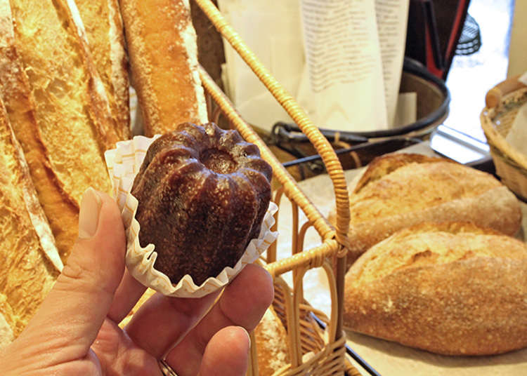 Authentic pastries by a French chef