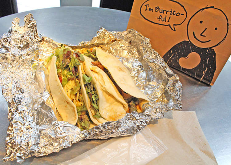 Loved by international gourmets: tacos & burritos