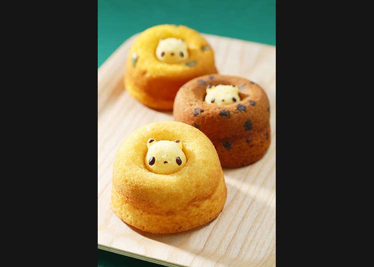Donut Shiretoco (panda kecil)