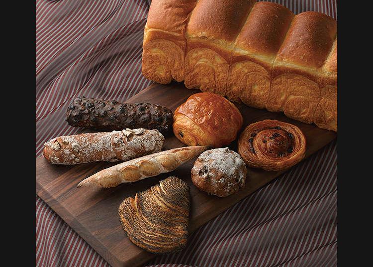 和光が販売する2つ星レストランのパン