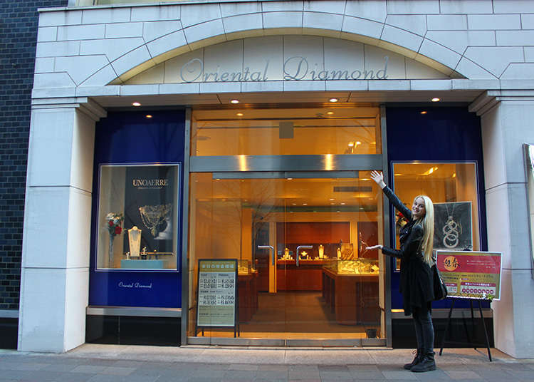 Let's go to the Japan-made diamond store