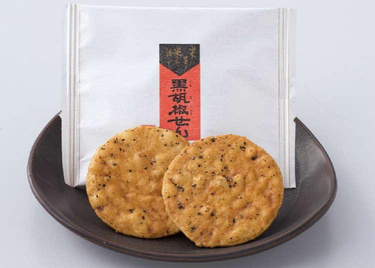 以講究的做法製作煎餅的煎遊(Osenbeiyasan)
