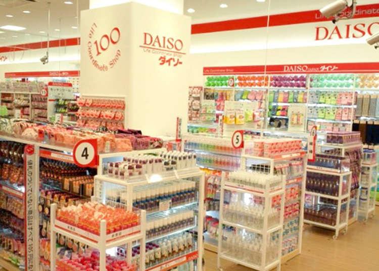 """""""Daiso"""" yang melambangkan negara Jepun"""