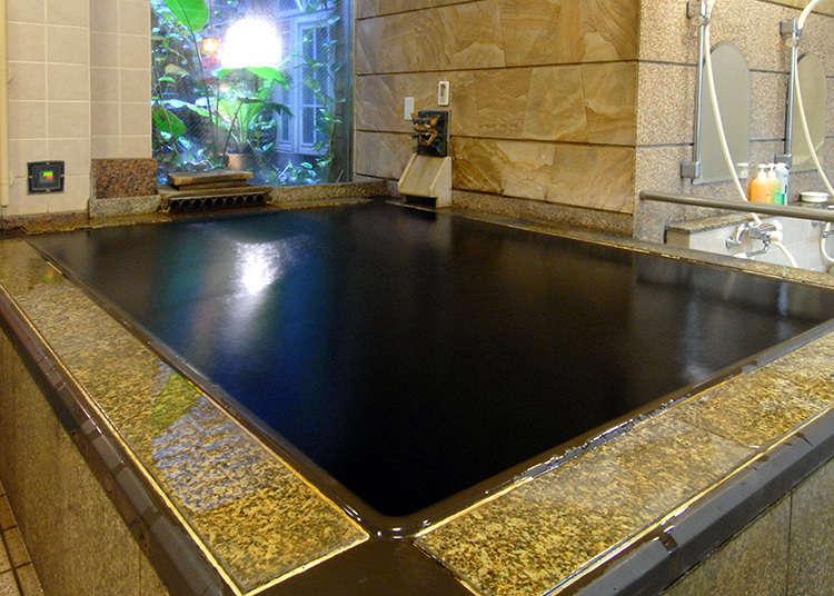 蒲田車站前的溫泉