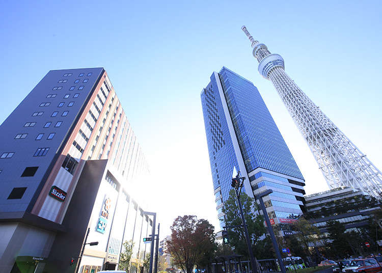 Perfect starting point of the sightseeing of Tokyo