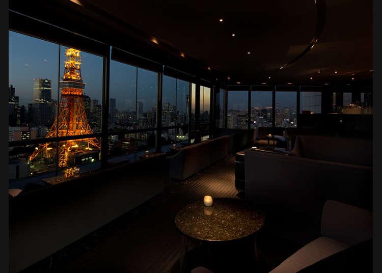 東京タワーをさまざまな角度から眺める