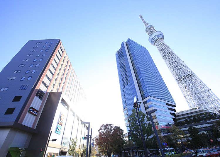 這裡正適合當作觀光東京的起點