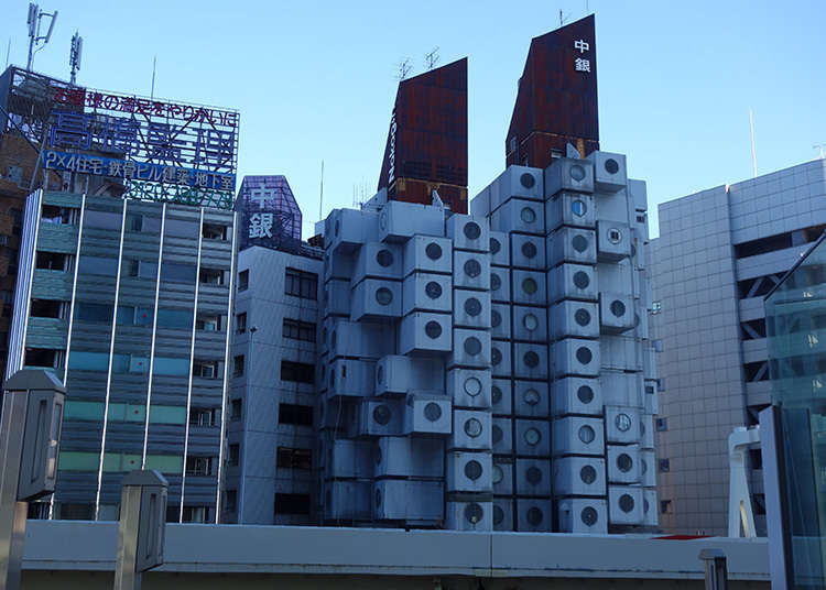 Be amazed by Nakagin Tower