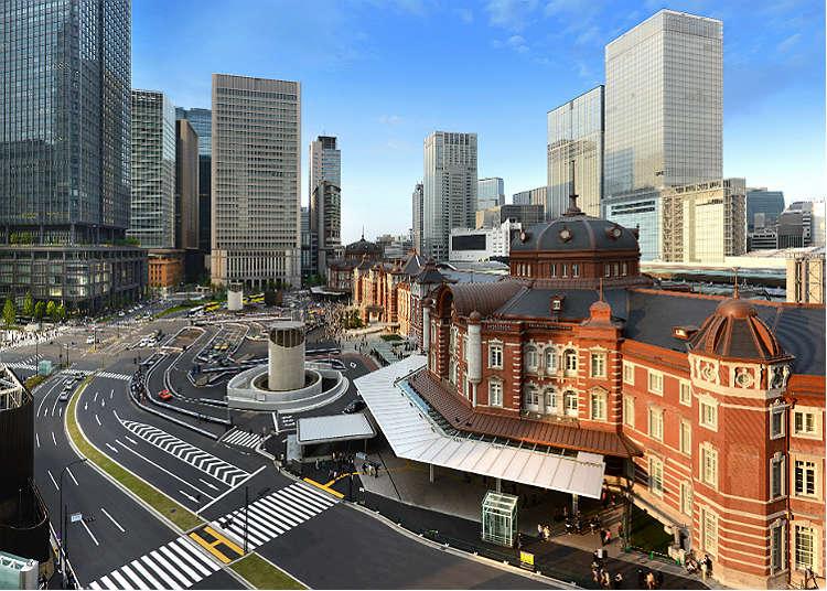 初次來東京車站就這樣逛吧!