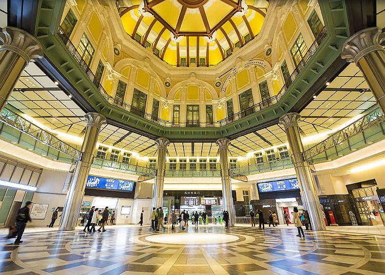 Stasiun Tokyo yang Penuh Daya Tarik